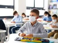 Schutzmasken in der Schule